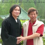 Taoist Master Zhou immediately connects with Grandmaster Khors Tai Chi ideals