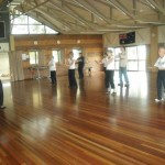 Alena and Tai Chi Bundaberg students