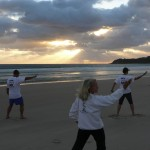 Tai Chi at Sunrise