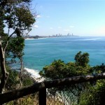 Surfers Paradise from Burleigh