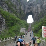 China April 2013-we made it to the Heavenly Gate up 999 steps!!!