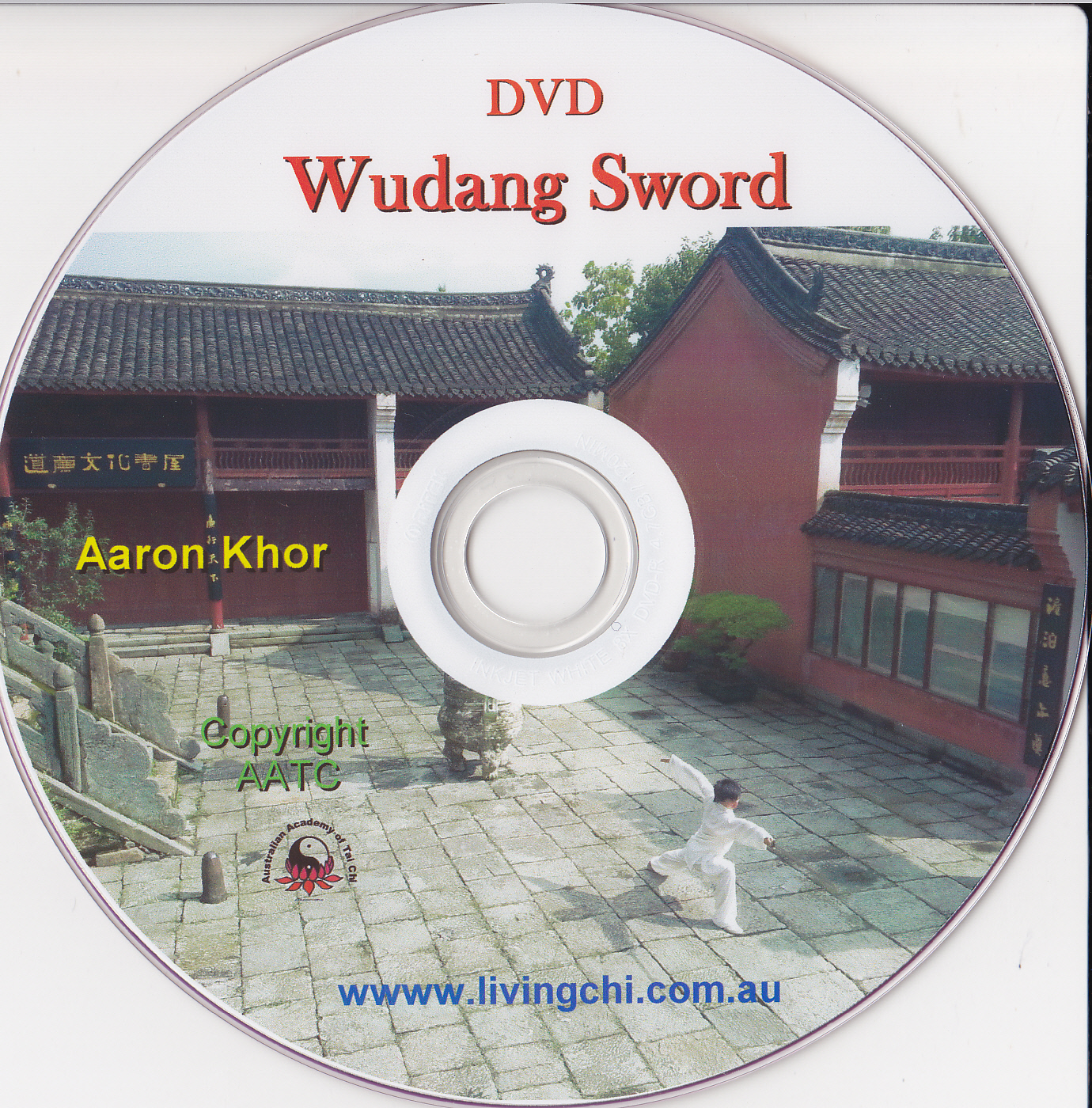 Wudang Sword DVD cover